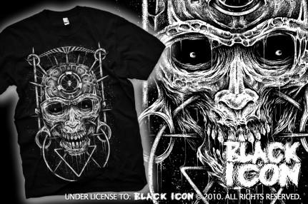 MICON002 BLACK - art of pain