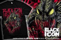 JICON005 BLACK -  belzebub