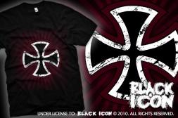 MICON021 BLACK -  maltan cross