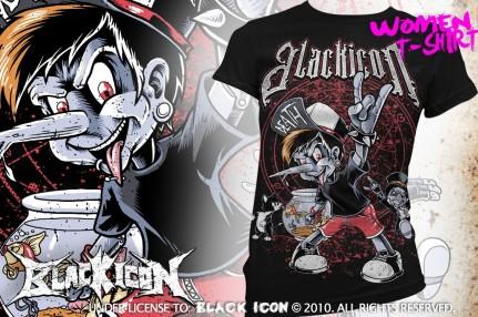 DICON114 BLACK - pinochio