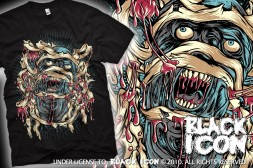 MICON046 BLACK -  scream of the mummy