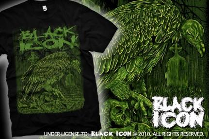 MICON040 BLACK - vultures