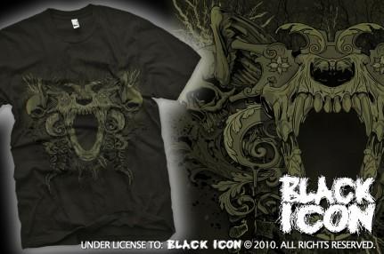 MICON032 BLACK -  fear