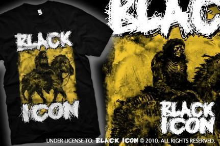MICON030 BLACK - horseman of apocalypse