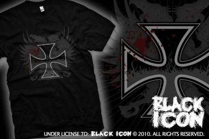 MICON015 BLACK - cross fire